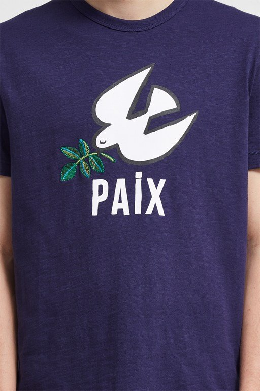 Complete the Look Paix Slogan T-Shirt