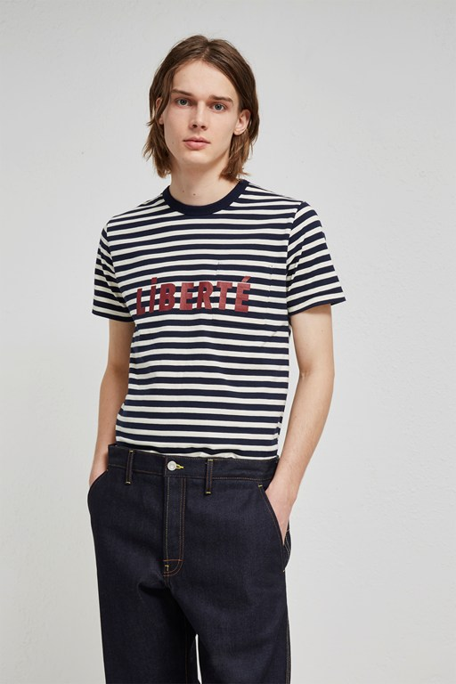 Complete the Look Liberté Slogan T-Shirt