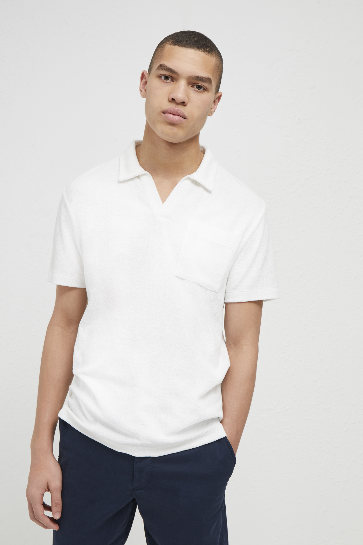 Plain Polo Shirt - Light blue mel French Connection Free Shipping The Cheapest Buy Cheap Footlocker Pick A Best Extremely Online 0xj15aKNf