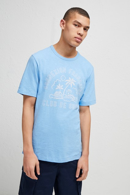 Soleil t shirt graphic tees french connection for Club piscine soleil chicoutimi
