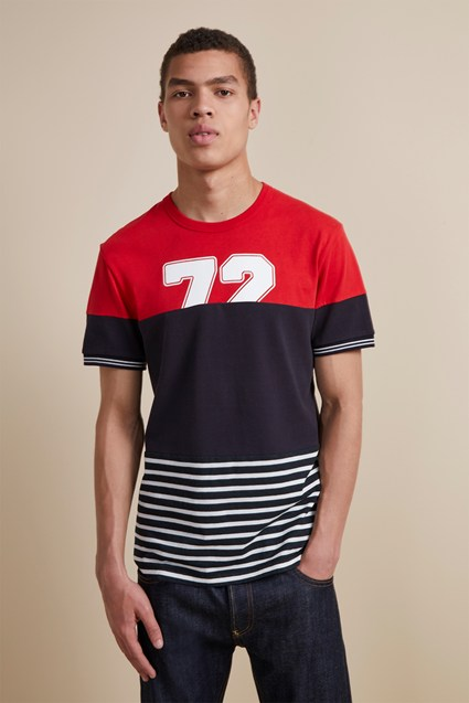 Muddled Jersey T-Shirt