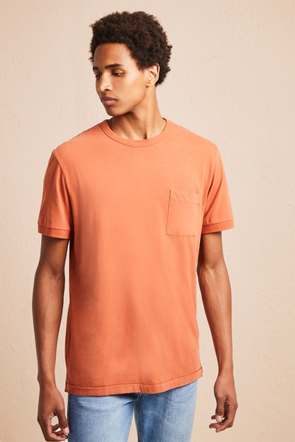 Soft Finish Pocket T-Shirt