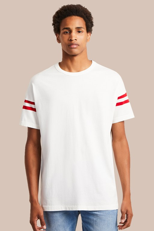 24 tipping stripe t-shirt