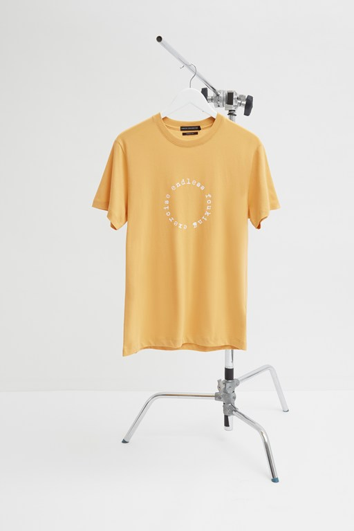fcuk exercise slogan t-shirt