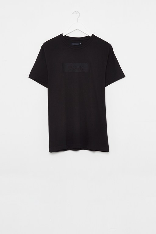 fcuk embroidered box t-shirt
