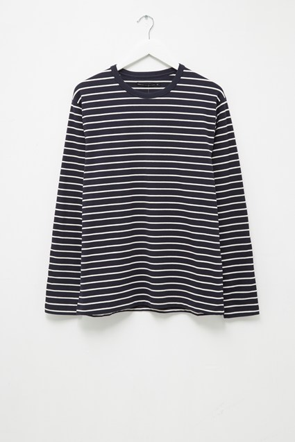 Tim Stripe Crew Neck T-Shirt