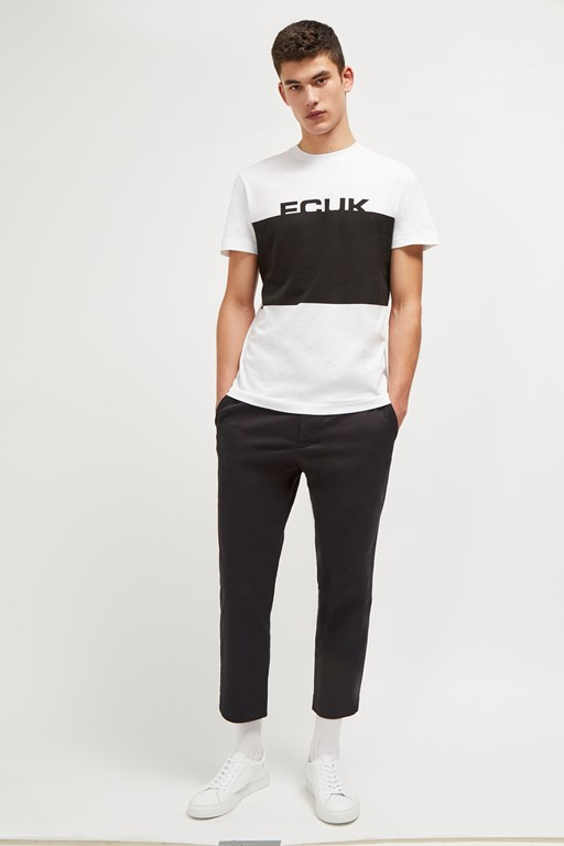fcuk black box slogan t-shirt