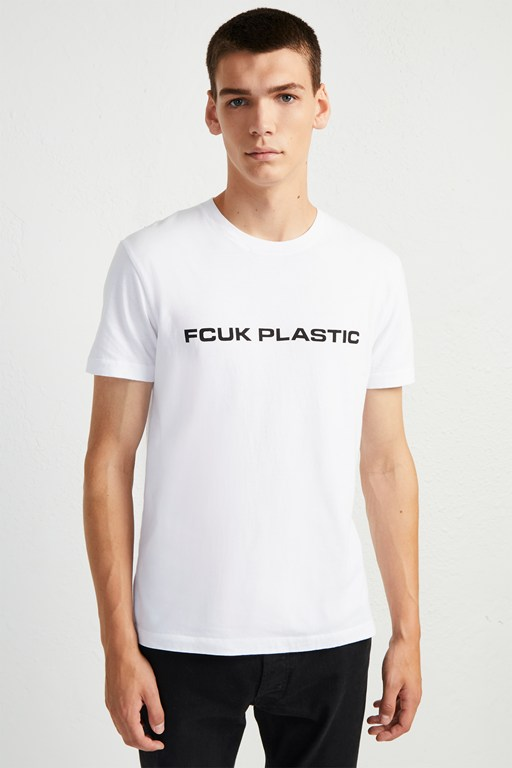 man fcuk plastic charity t-shirt