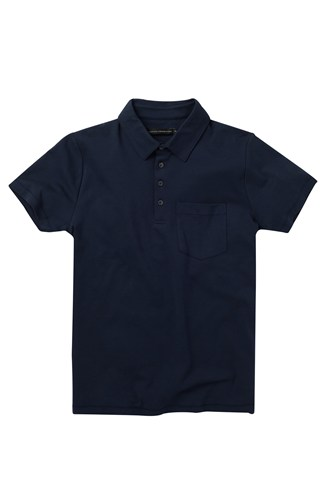 Interlock Cotton Polo Shirt