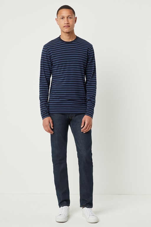 tim tim stripe long sleeve t-shirt