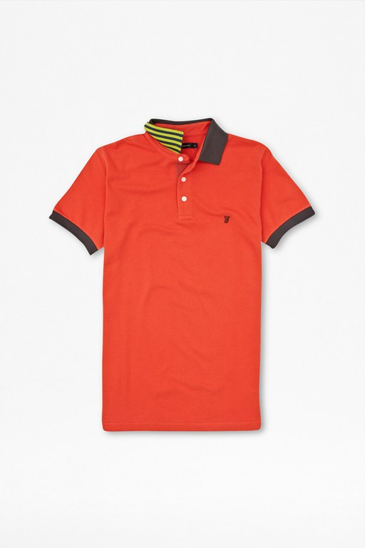 photon stripe polo shirt