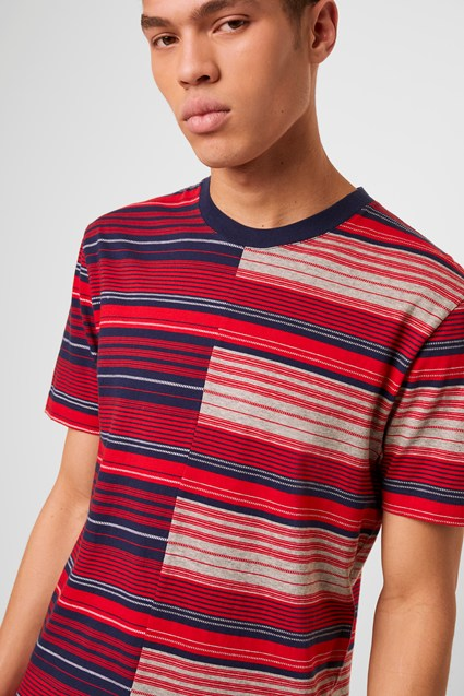 Kamo Splice Stripe T-shirt