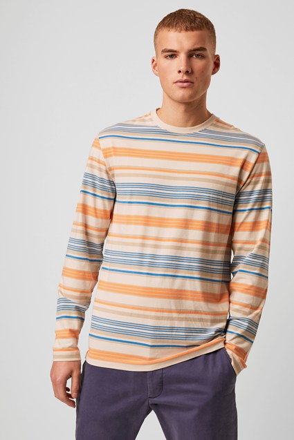 Yura Stripe Long Sleeve T-Shirt