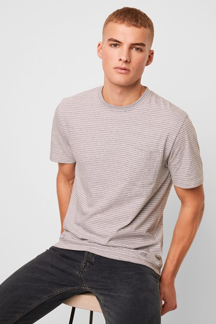 Micro Twin Stripe T Shirt