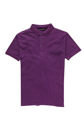 Colour Washed Polo Shirt