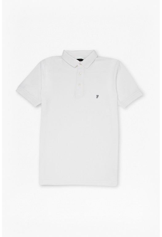 Pique Badge Polo Shirt