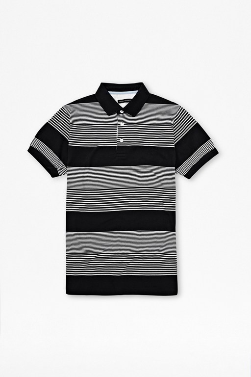 Complete the Look Black Star Polo Shirt