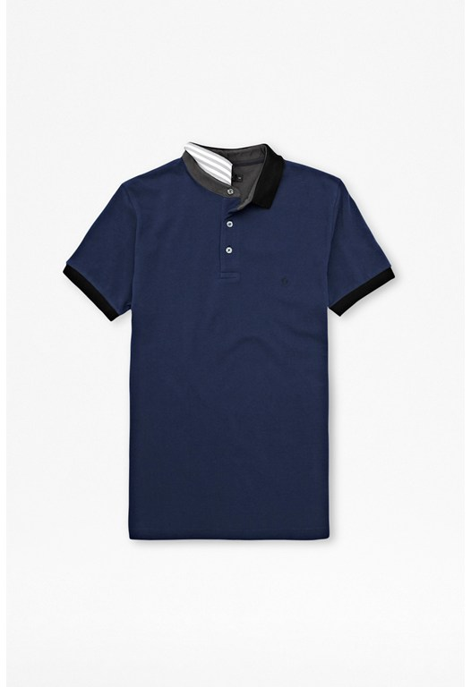 Phonton Contrast Polo Shirt