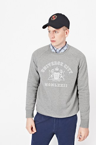 Cambridge Printed Sweatshirt