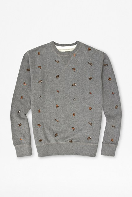 Squirrel Printed Sweatshirt