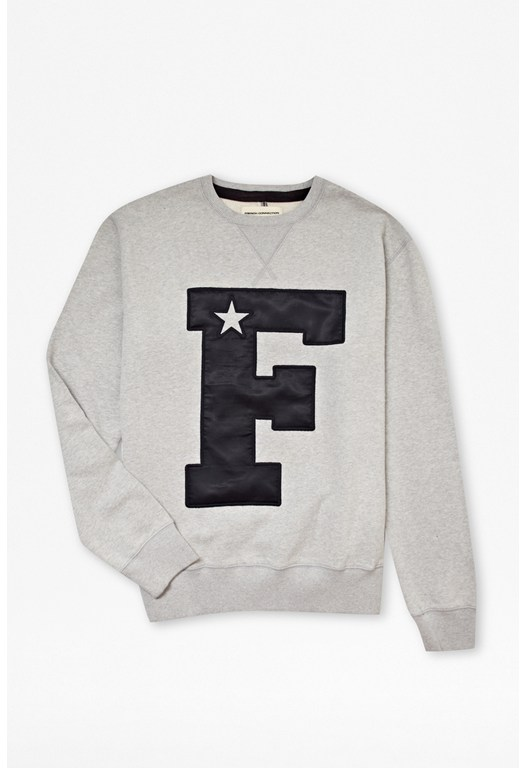 'F' Star Crew Sweater