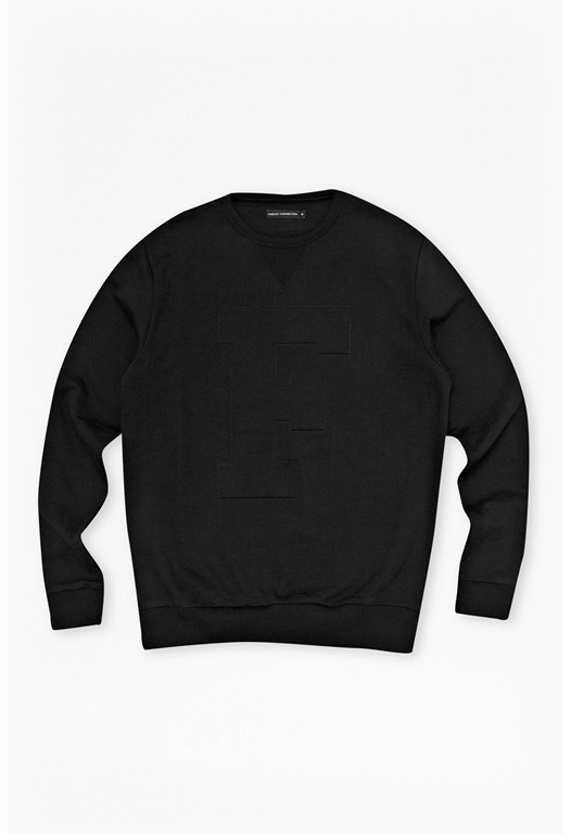fcuk fear Embossed 'F' Sweater