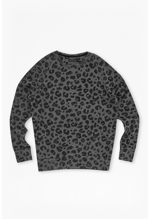Deaf Leopard Raglan Sweat