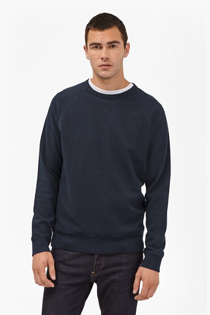 Winter Pique Raglan Sleeve Sweatshirt