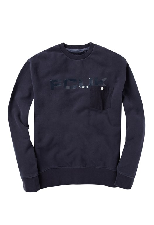 Fcuk Pocket Patch Sweatshirt