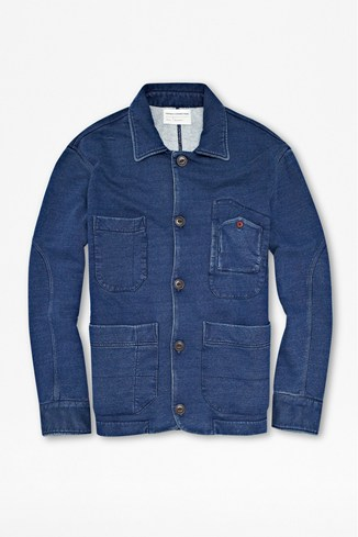 Indigo Sweater Jacket