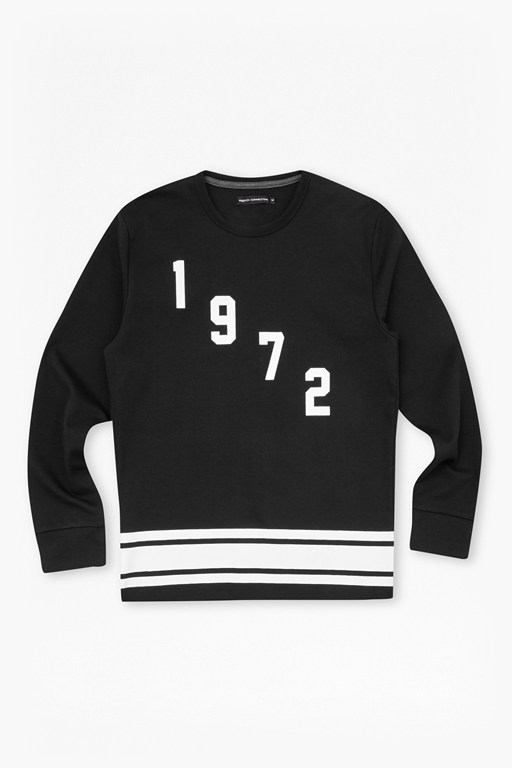 fcuk fear 1972 printed sweatshirt