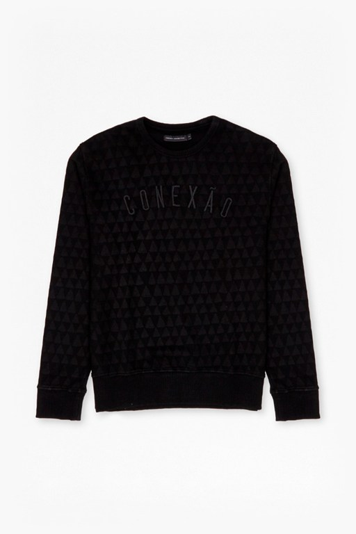 Complete the Look Conexao Tribal Triangle Sweatshirt