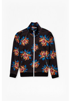 Pisco Printed Zip Through Sweatshirt