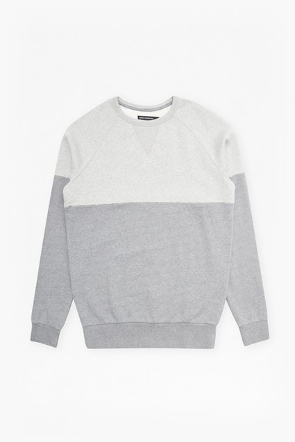 Multi Melange Crew Neck Sweatshirt