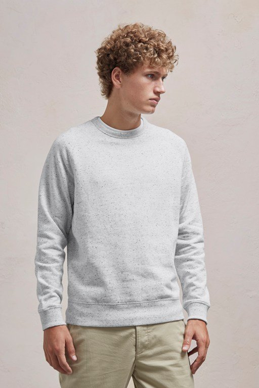 nep speckled sweatshirt