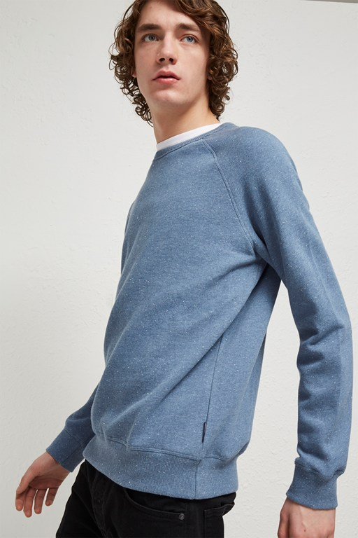 Complete the Look Nep Speckled Sweatshirt