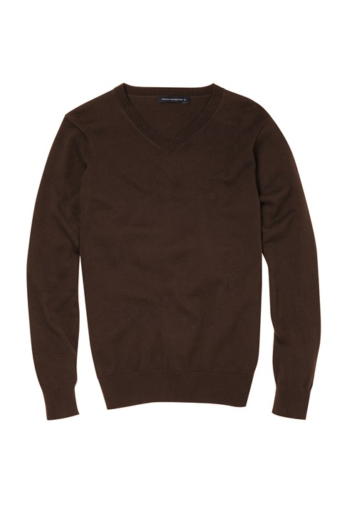 New Alderly Plain V neck Knit
