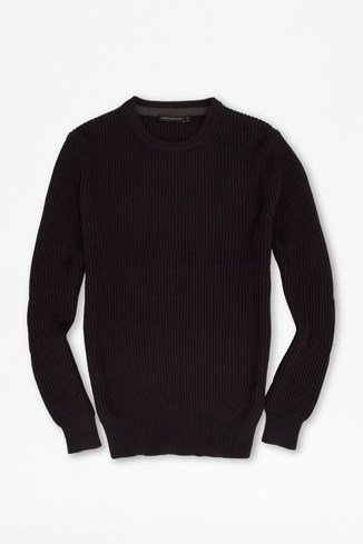 Warfare Fashioned Ribbed Jumper