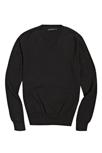 Auderly Cotton V-Neck Jumper