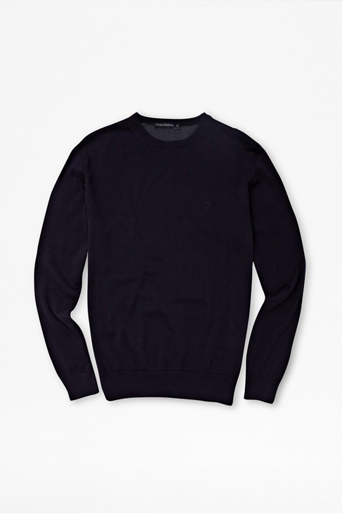 Auderly Cotton Contrast Jumper