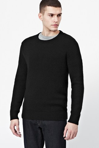 Blockade Angora Knitted Jumper