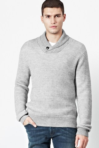 Polar Gingham Knitted Jumper