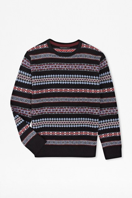 Wreath Fair Isle Jumper