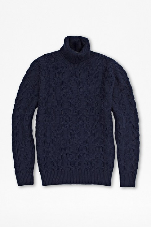 Yule Wool Roll Neck Jumper