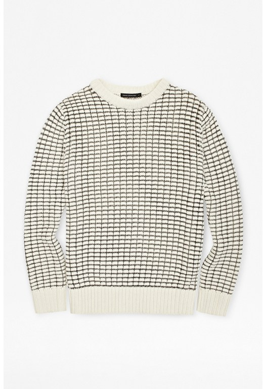 Man Gridlock Sparkle Jumper