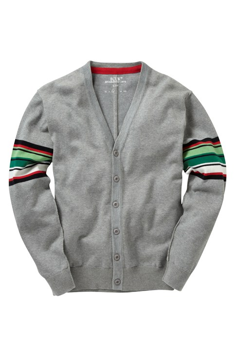 Half Pipe Stripe Cardigan