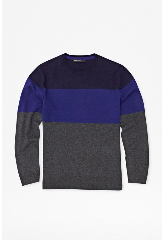 Base Striped Lambswool Jumper