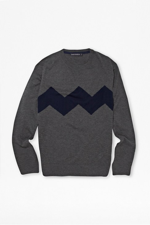 Satellite Yak Stripe Jumper