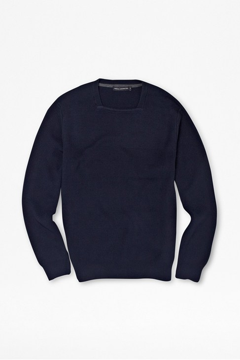 Fantasy Textured Cotton Jumper