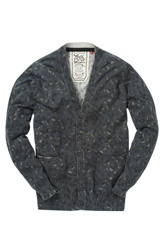 Csi Printed Cardigan